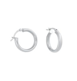 Eff Y Bee f.y.b. - Isla Hoops Silver Earring