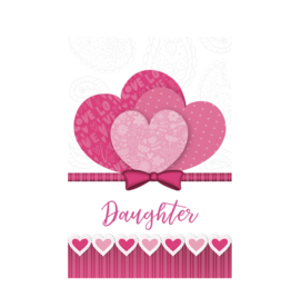 Pictura Pictura - Valentine's Day Cards Daughter 80926