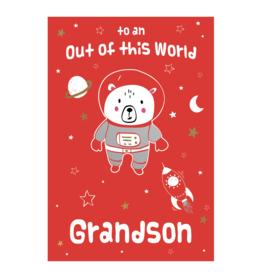Pictura Pictura - Valentine's Day Card Grandson 83046