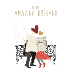 Pictura Pictura - Valentine's Day Card Husband 83040