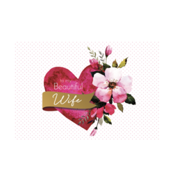 Pictura Pictura - Valentine's Day Card Wife 83037