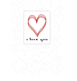Pictura Pictura - Valentine's Day Cards One I Love 80701