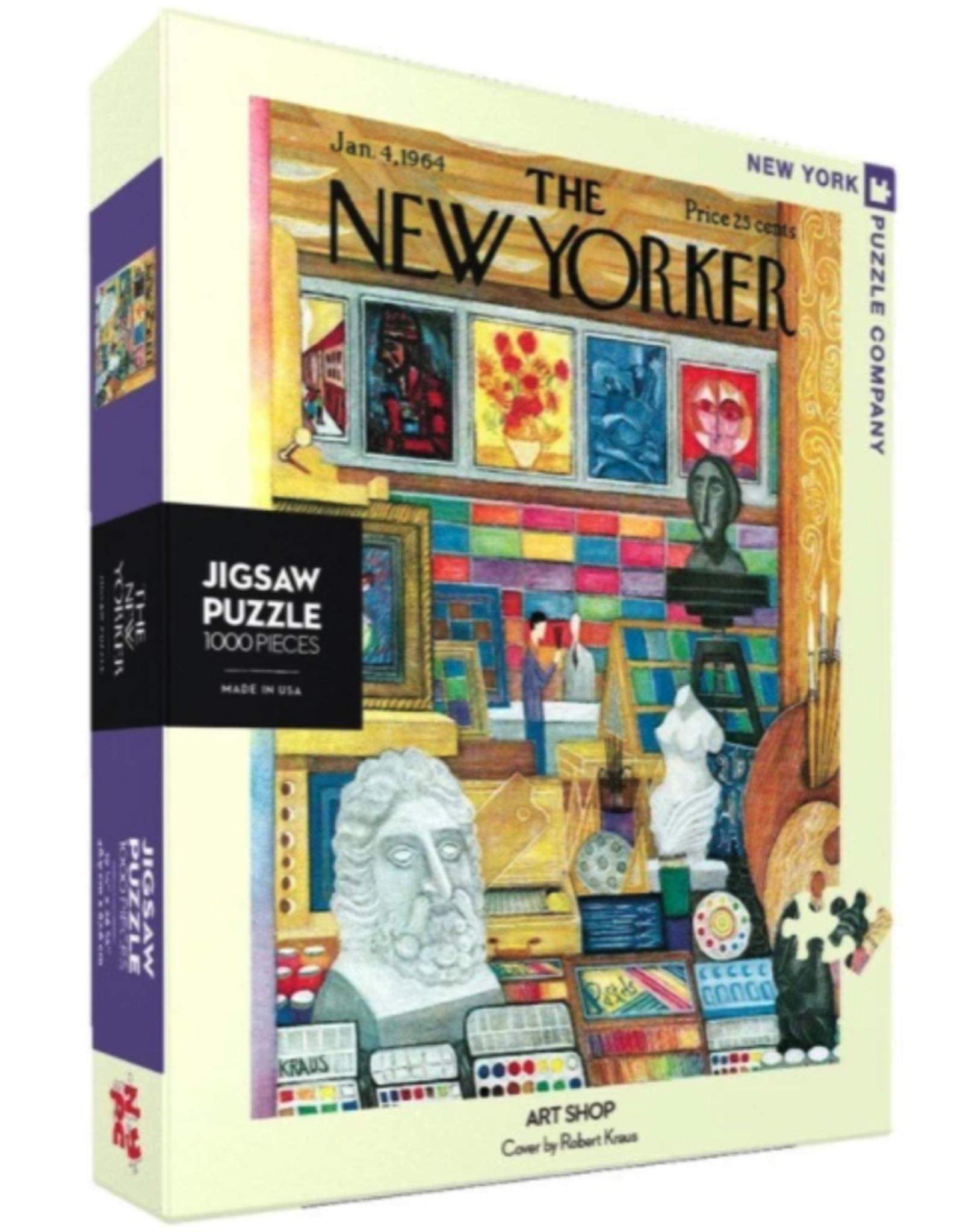 NY Puzzle - Art Shop Puzzle 1000pc