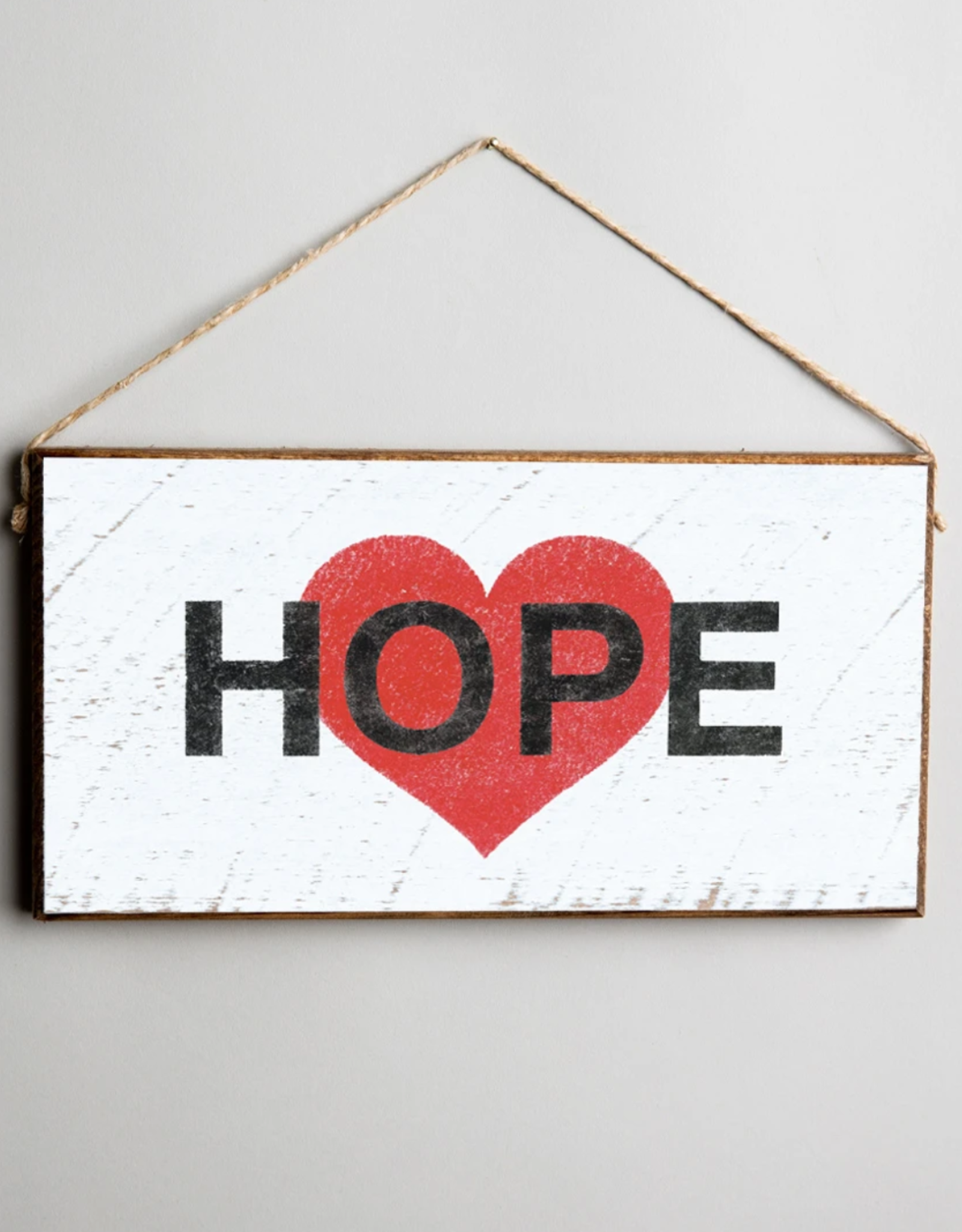 Rustic Marlin Rustic Marlin Mini Plank Hope Heart