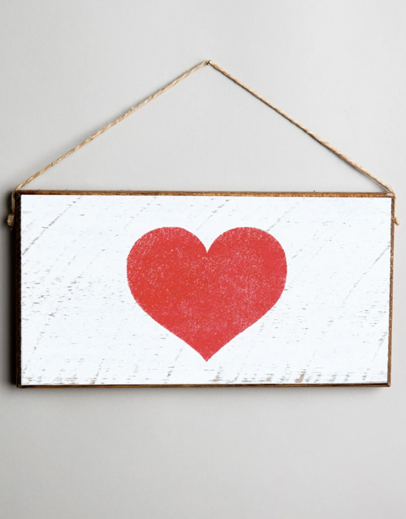 Rustic Marlin Rustic Marlin Mini Plank Heart