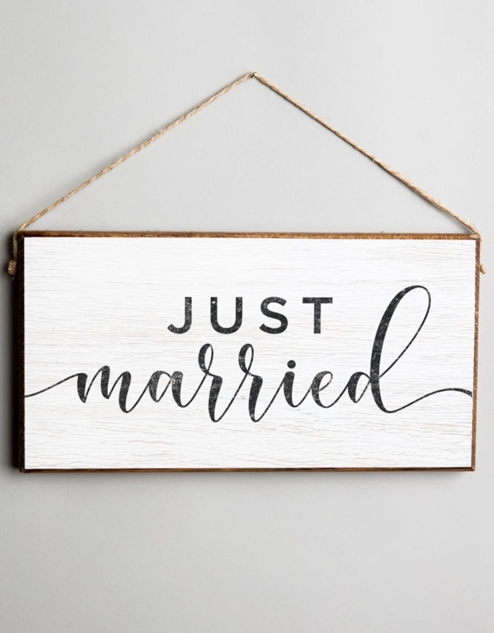 Rustic Marlin Rustic Marlin - Mini Plank Just Married