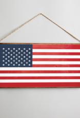 Rustic Marlin Rustic Marlin Mini Plank American Flag