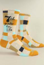 Blue Q Blue Q - Men Socks 7th Grader