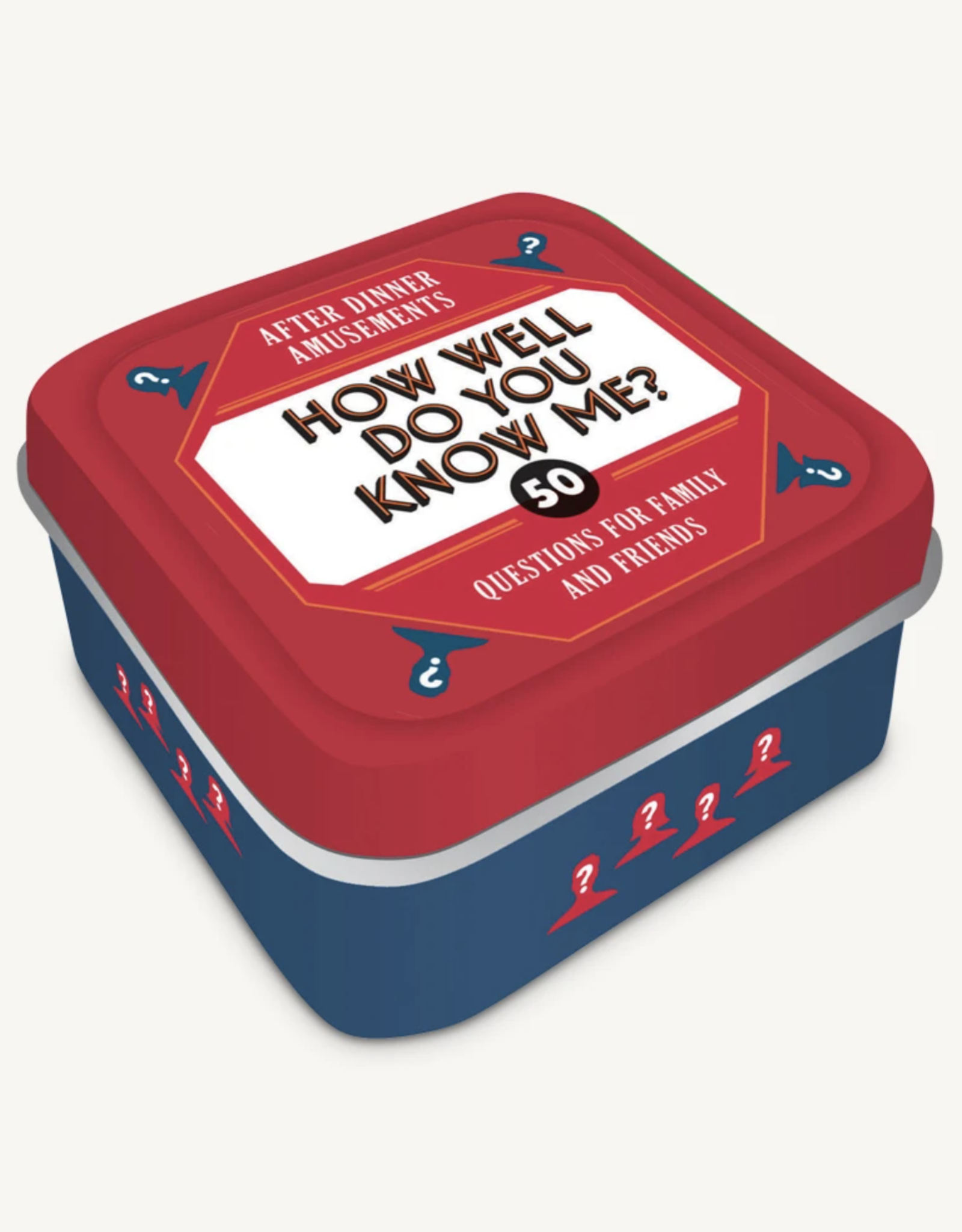 Game Tins - How Well Do You Know Me?