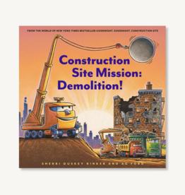 Construction Site Mission: Demolition Book