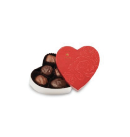 Abdallah Candies Abdallah - 2oz Heart Box Asst Choc