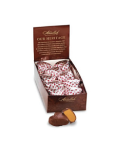 Abdallah Candies Abdallah - Foiled Peanut Butter Hearts