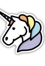 NW Stickers - Unicorn Head