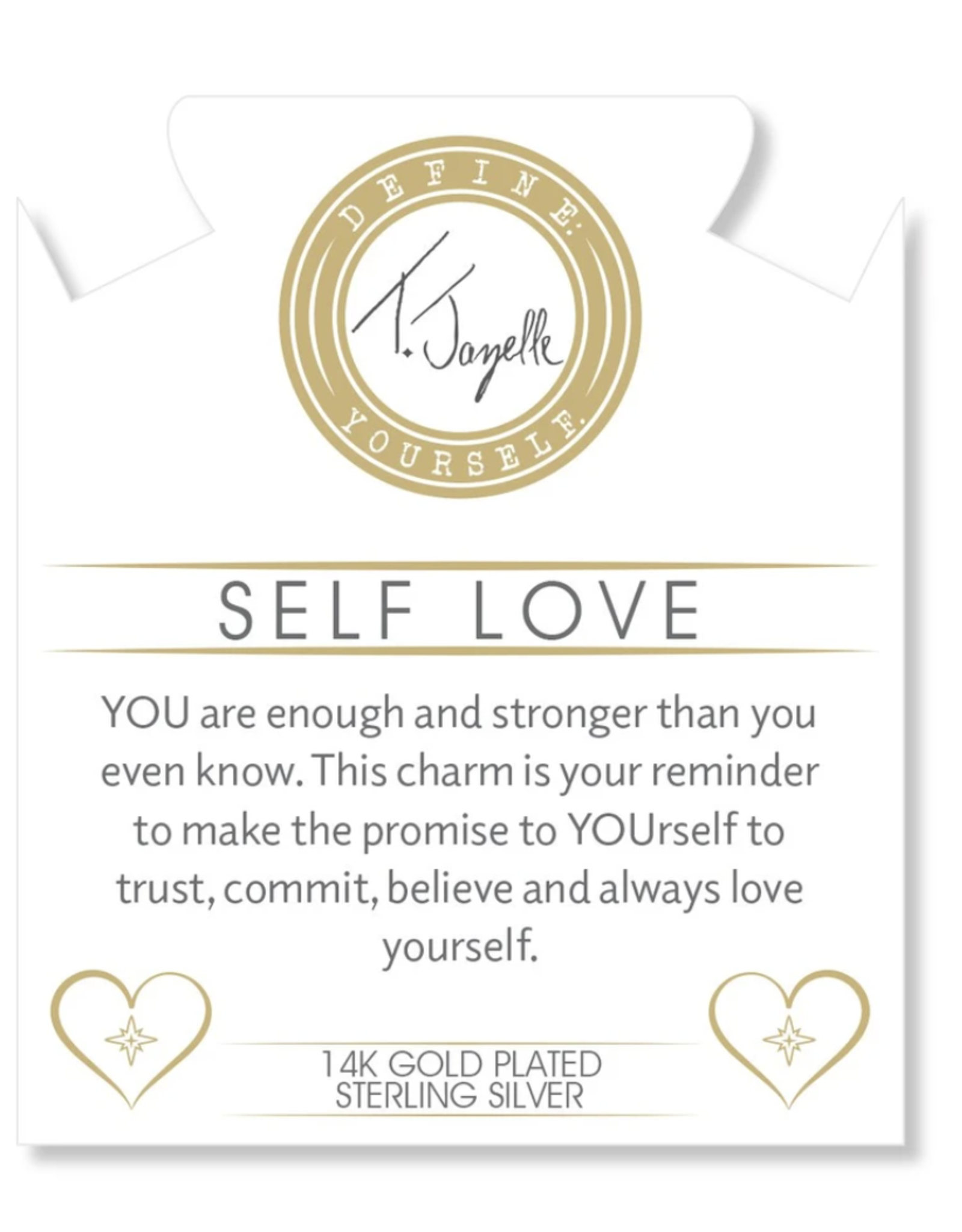 T. Jazelle T. Jazelle - Watermelon Quartz - Self Love - Gold