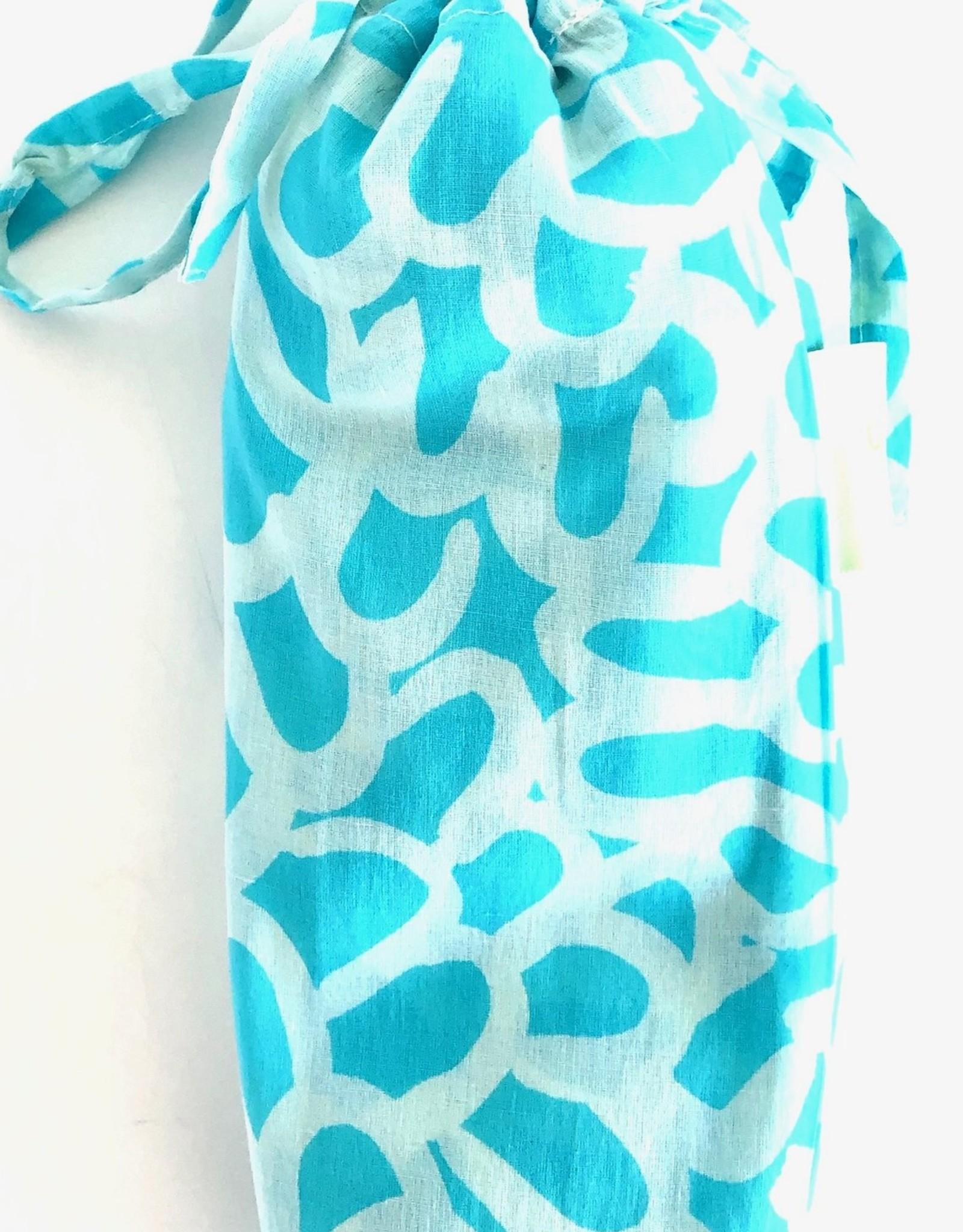 See Design See Design - Sarongs - Petals - Aqua