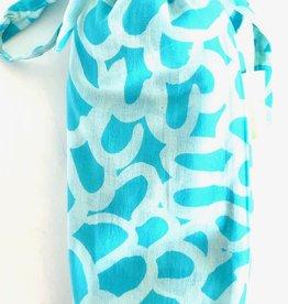 See Design - Sarongs - Petals - Aqua