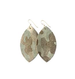Keva - Earrings Glamper Green