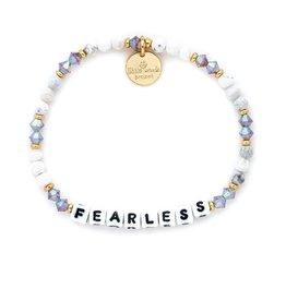 Little Word Project - Bracelet - Fearless - Creampuff