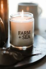 Farm + Sea Farm + Sea - 7.5 oz. Candle Jar - Salt Air