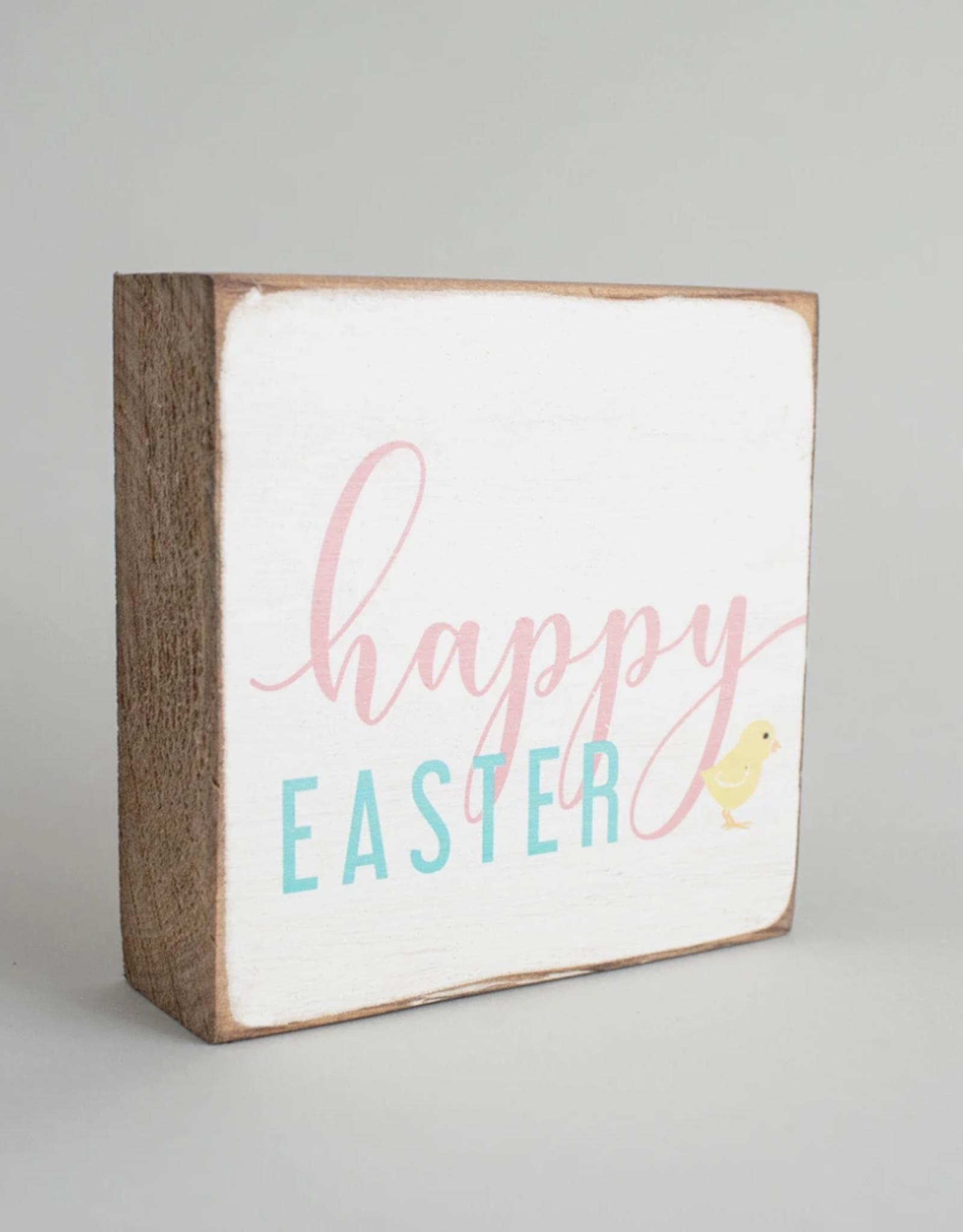 Rustic Marlin Rustic Marlin - 6 x 6 Block Happy Easter