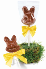 Abdallah Candies Abdallah - Choc Rabbit Pop with Bow