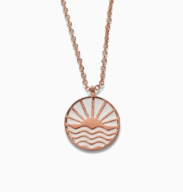 Pura Vida Pura Vida - Sunrise to Sunset Rosegold Necklace