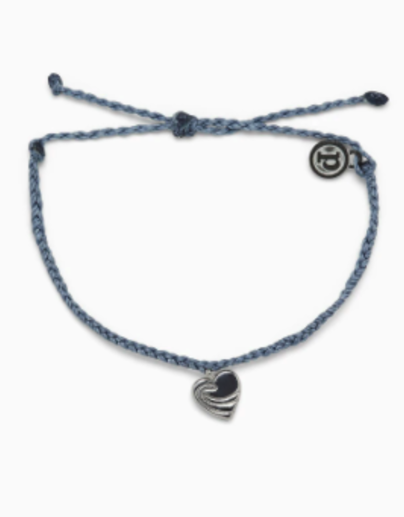 Pura Vida Pura Vida - Charm Bracelet Surf Love Blue
