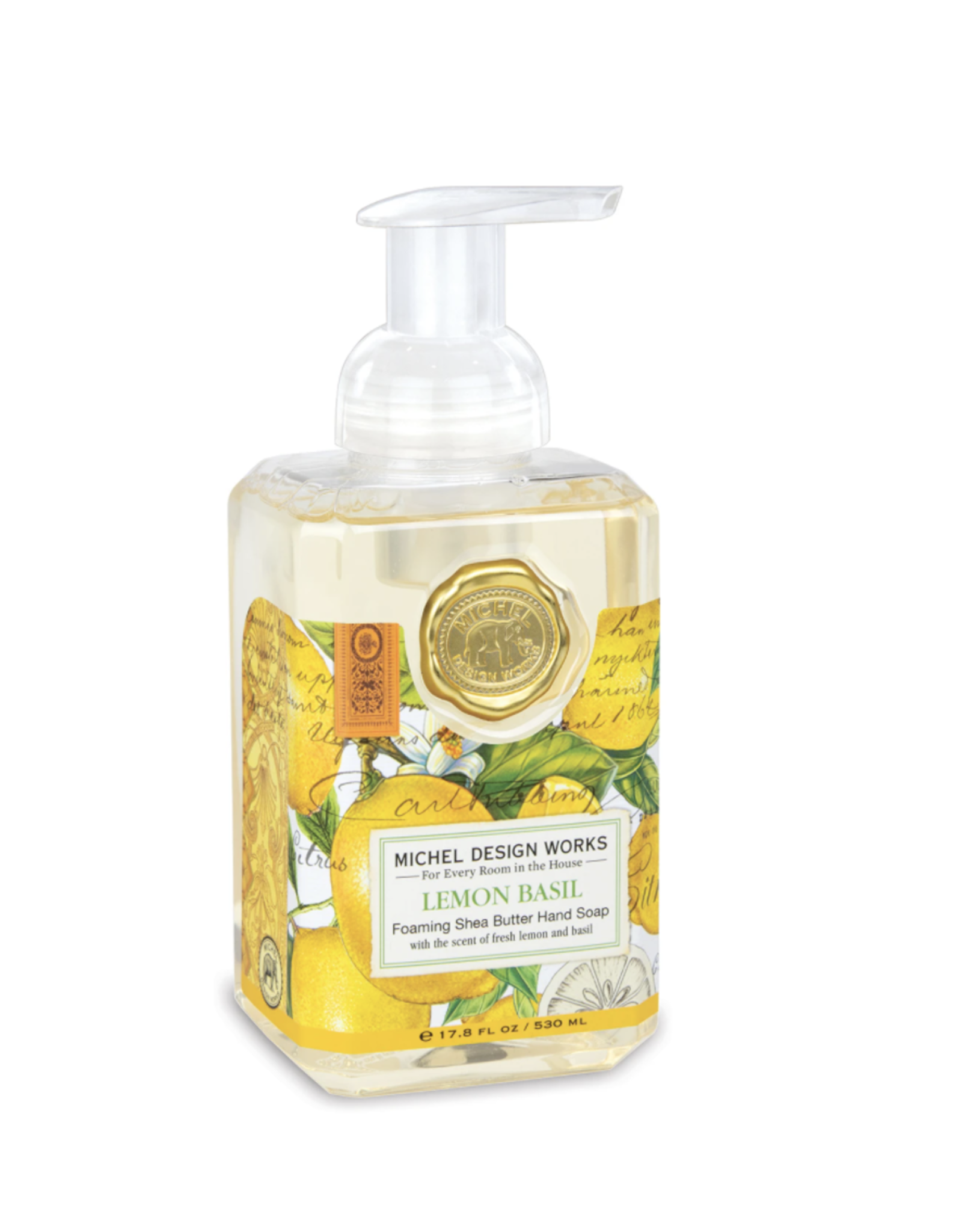 Michel Design Works Michel Design Works - Lemon Basil Foaming Soap