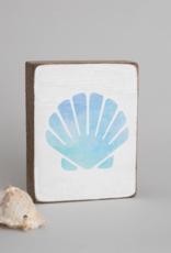 Rustic Marlin Rustic Marlin - Wood Block Sea Shell