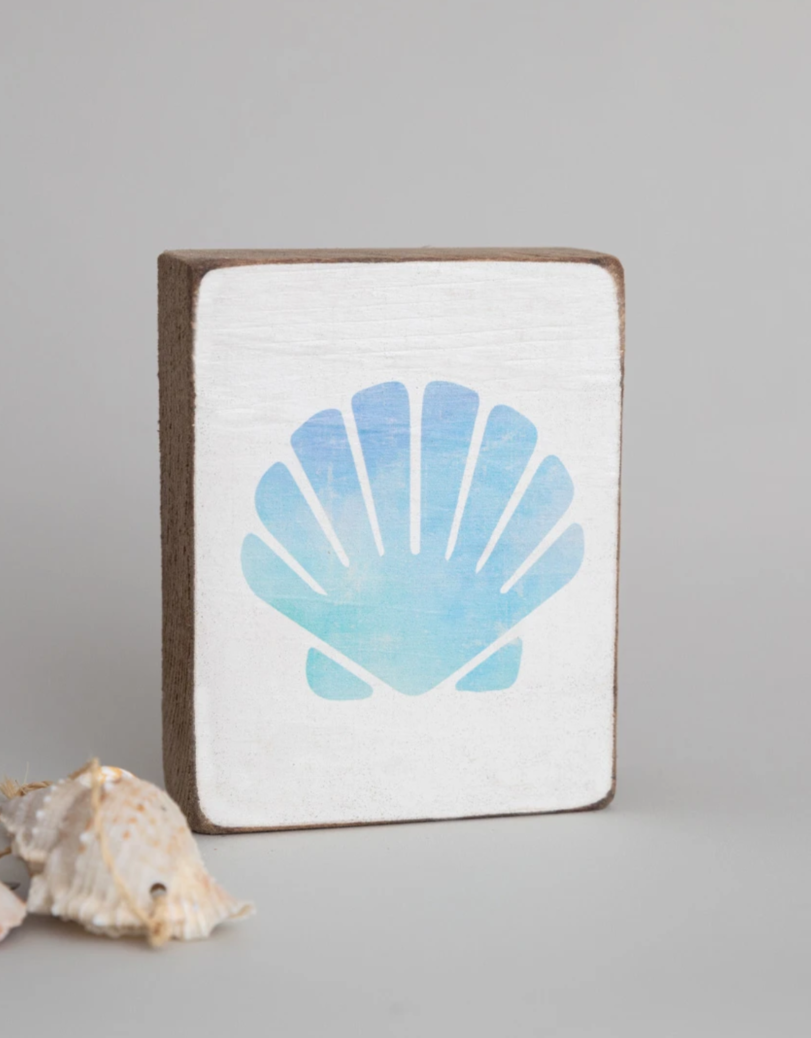 Rustic Marlin Rustic Marlin - Sea Shell Symbol Block