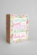 Rustic Marlin Rustic Marlin - Spring Blessings Symbol Block