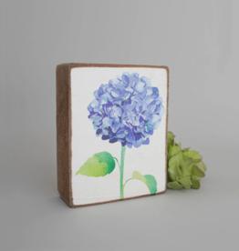Rustic Marlin Rustic Marlin - Blue Hydrangea Symbol Block