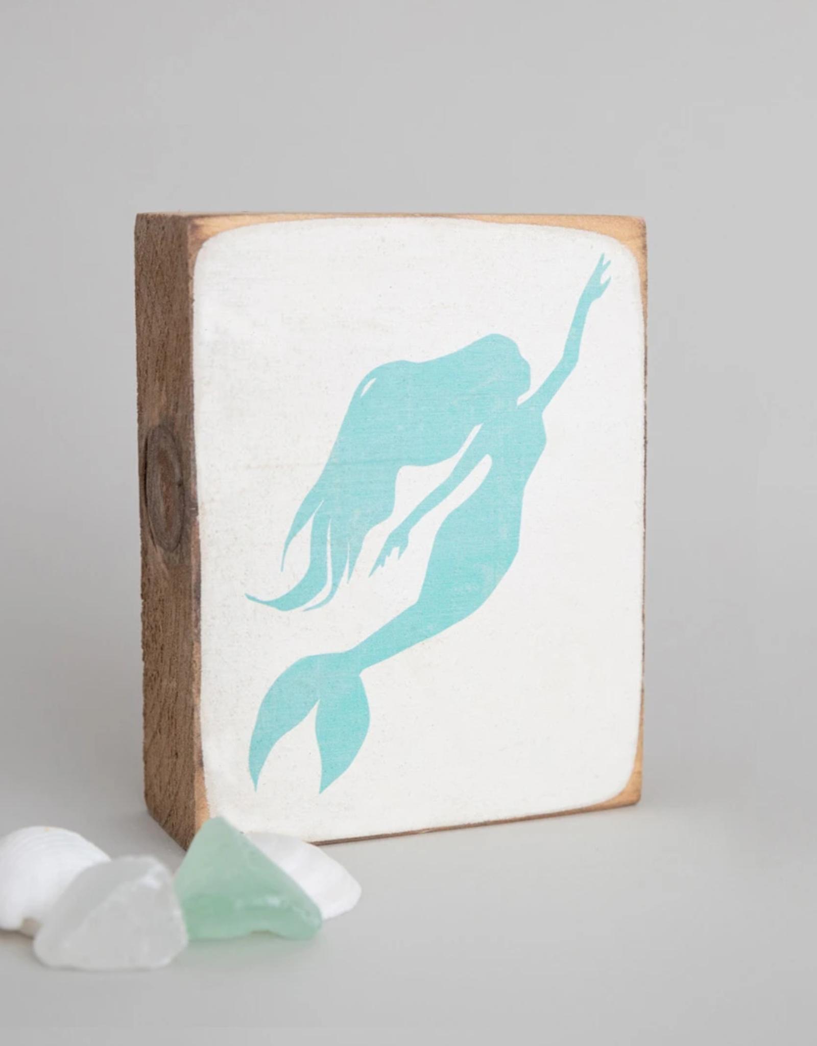 Rustic Marlin Rustic Marlin - Mermaid Symbol Block