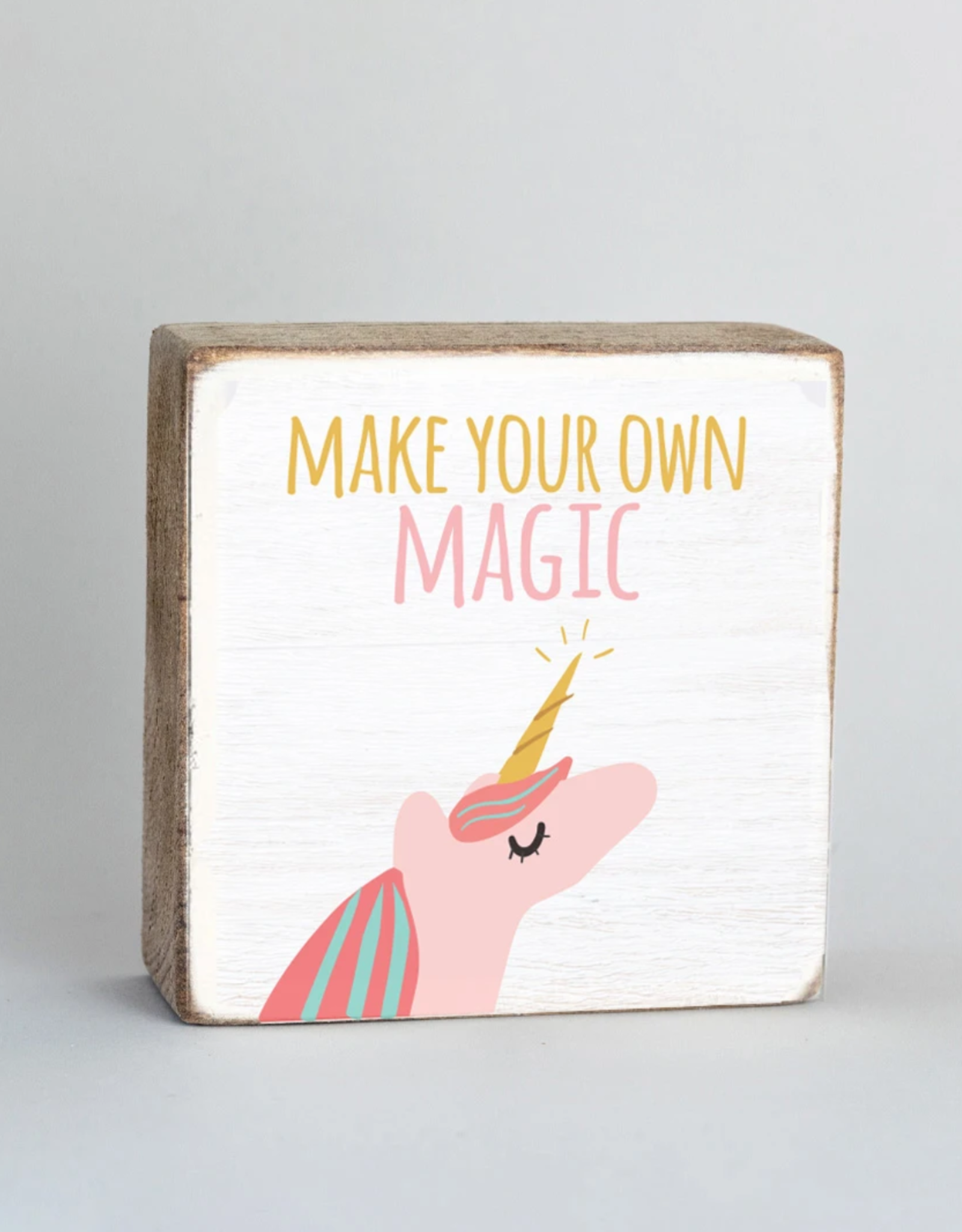 Rustic Marlin Rustic Marlin - Unicorn Magic 6x6 Block