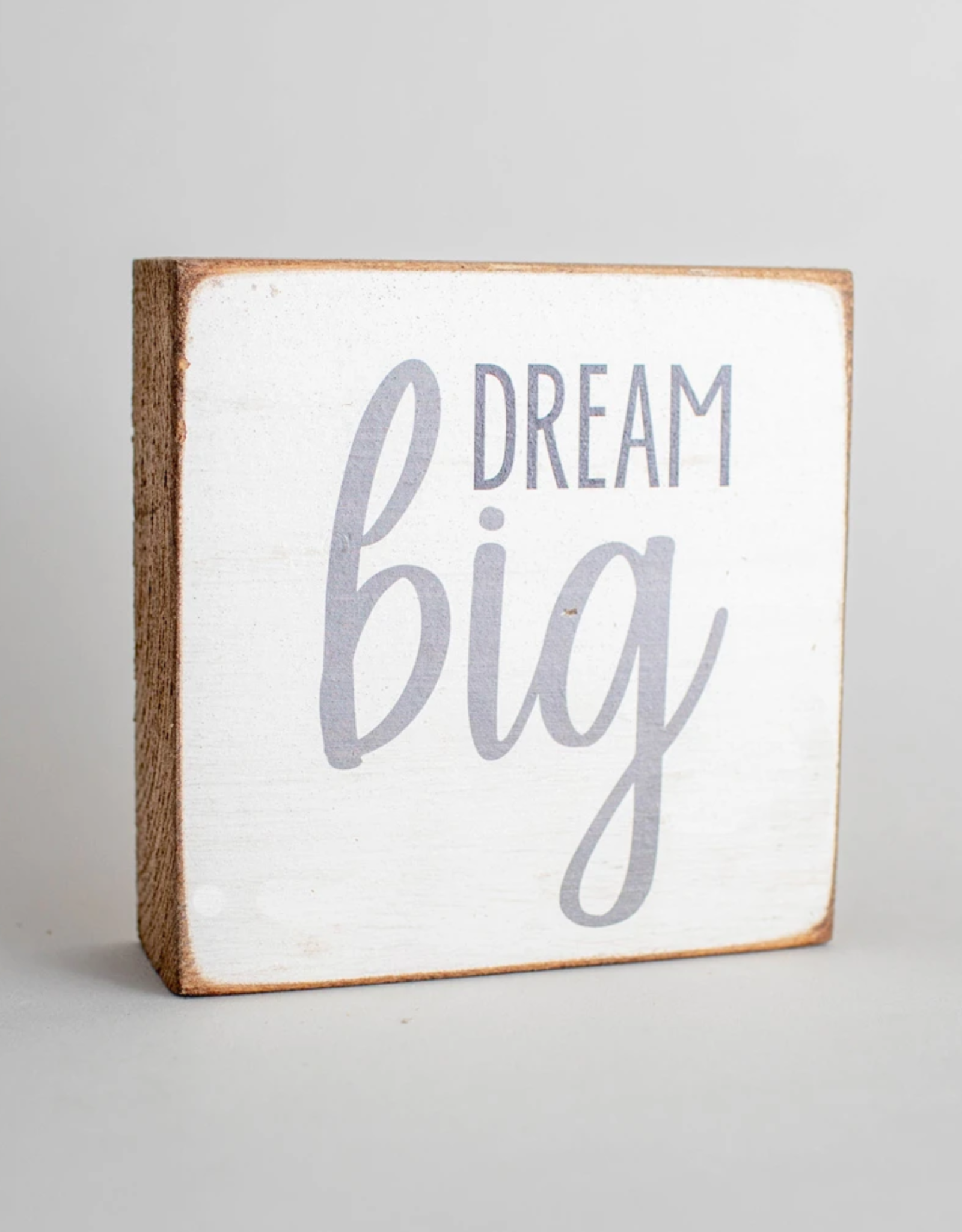 Rustic Marlin Rustic Marlin - Dream Big 6x6 Block