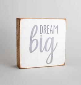 Rustic Marlin Rustic Marlin - Dream Big 6x6 Block