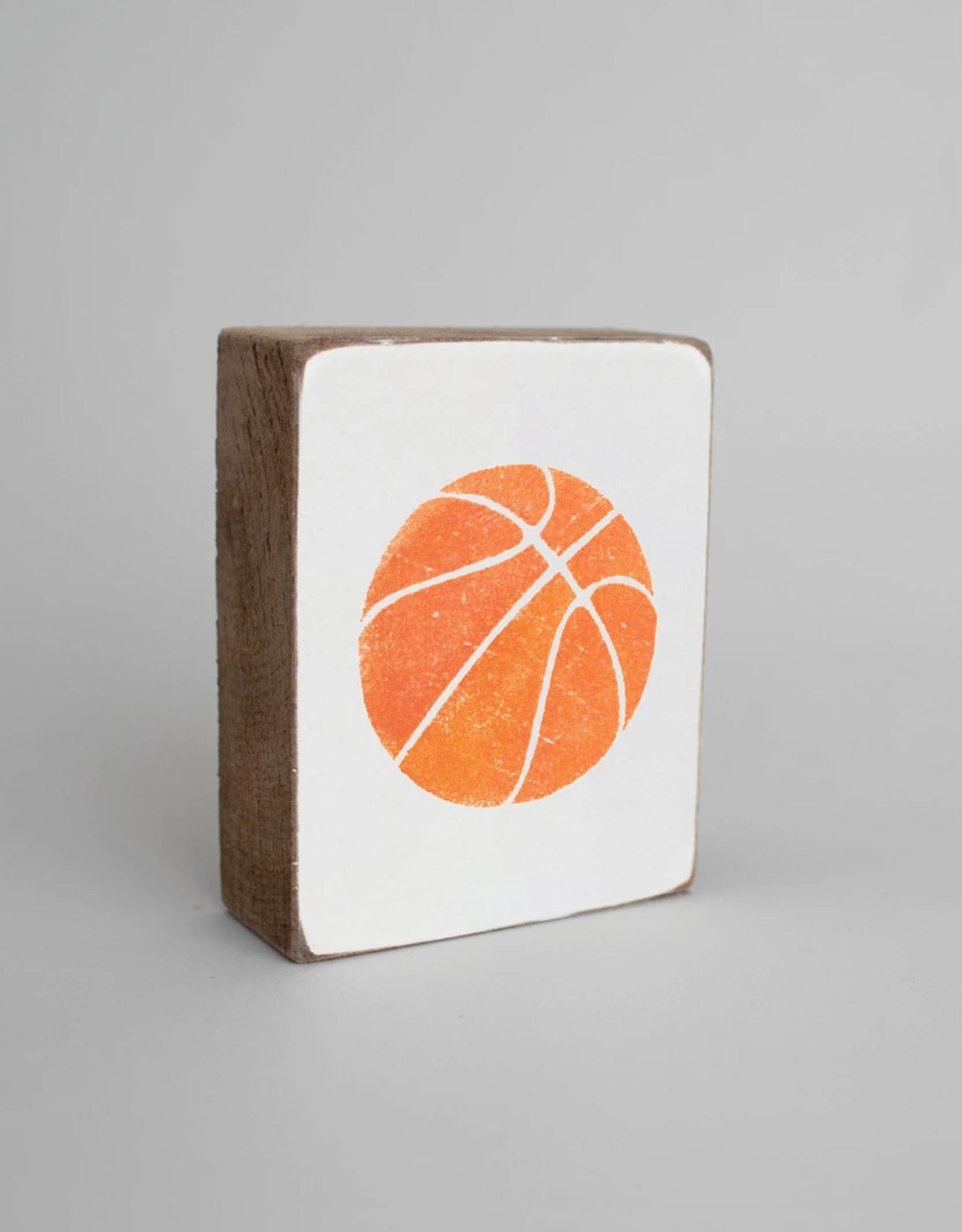 Rustic Marlin Rustic Marlin - Wood Block Basketball