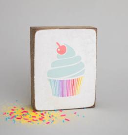 Rustic Marlin Rustic Marlin - Symbol Blocks Cupcake