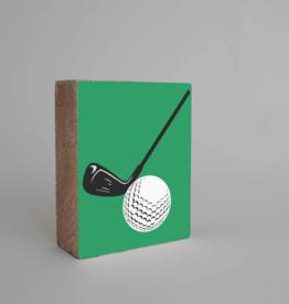 Rustic Marlin Rustic Marlin - Wood Block Golf