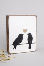 Rustic Marlin Rustic Marlin - Symbol Blocks Lovebirds