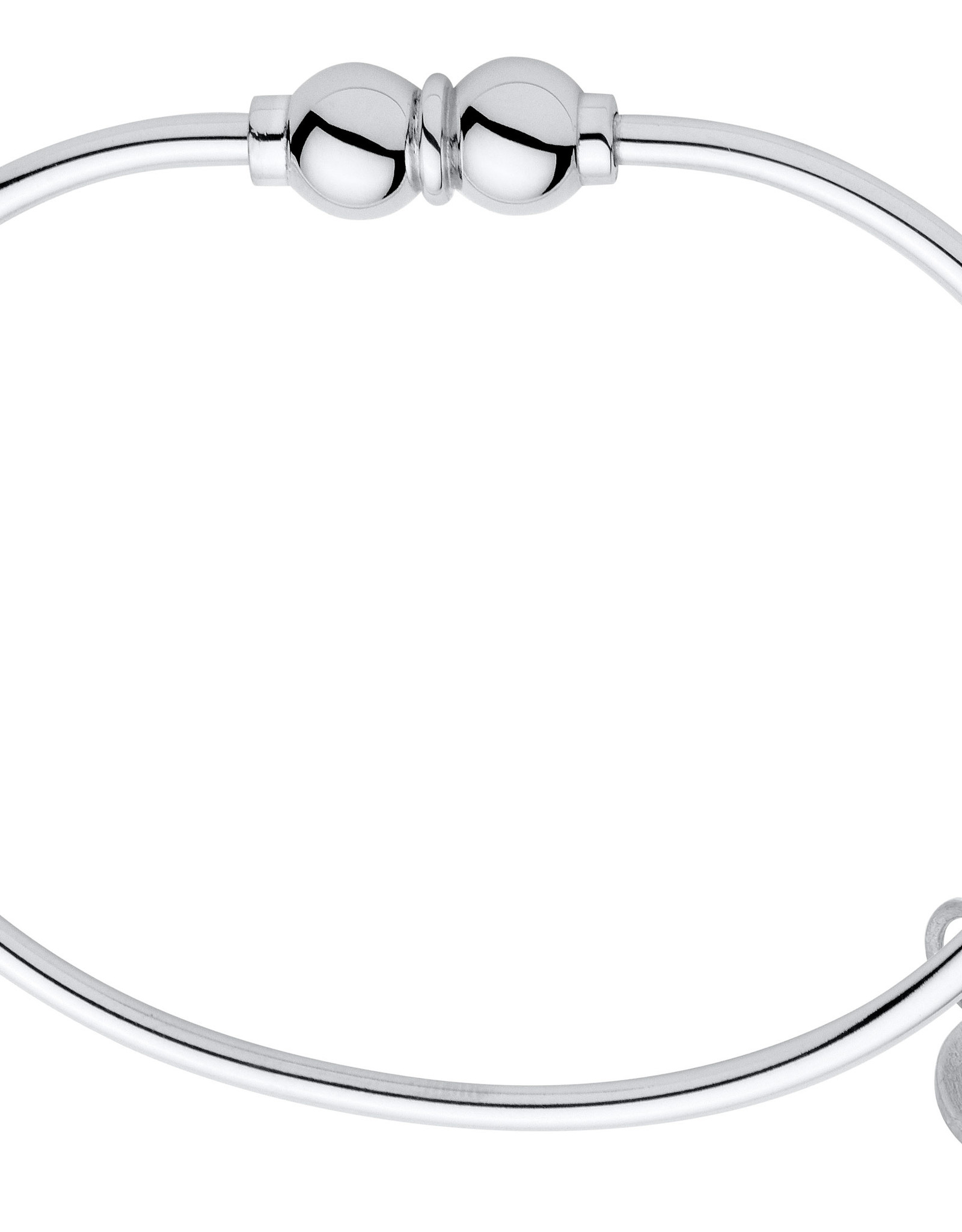 """LeStage - 6.5"""" The Classic Cape Cod Double Ball Bracelet - Sterling Silver with a Sterling Silver Ball 6.5"""""""