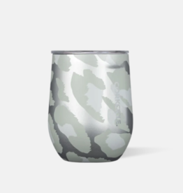 Corkcicle Corkcicle - 12oz Stemless - Snow Leopard
