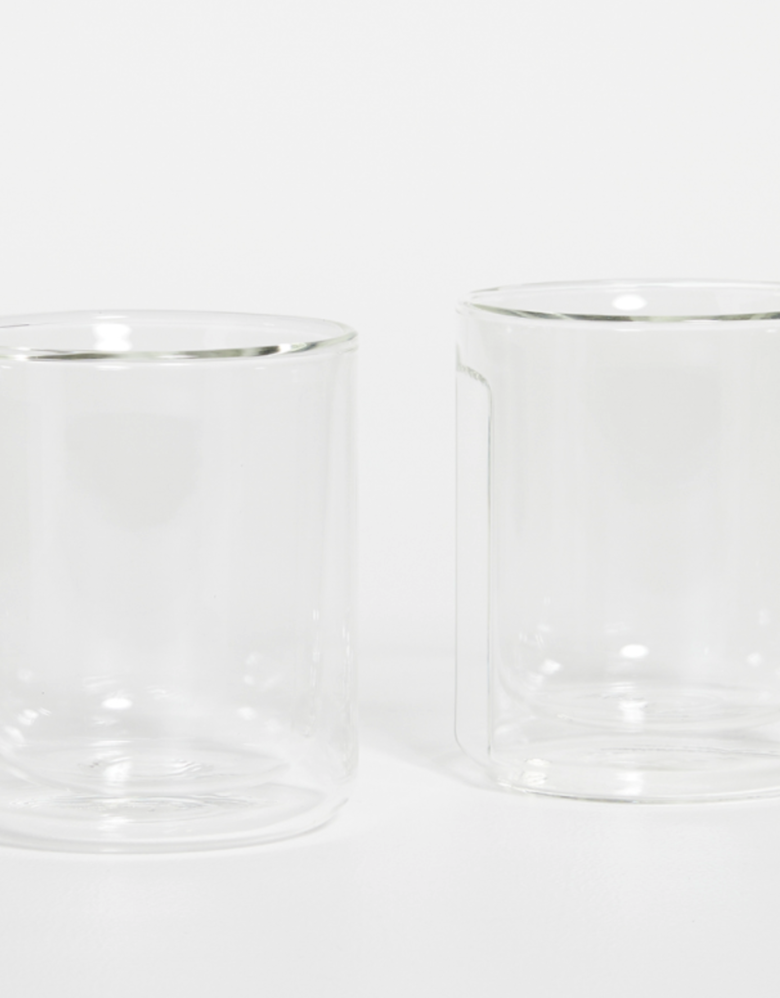 Corkcicle Corkcicle - Glass Rocks - 12oz Clear Double Pack