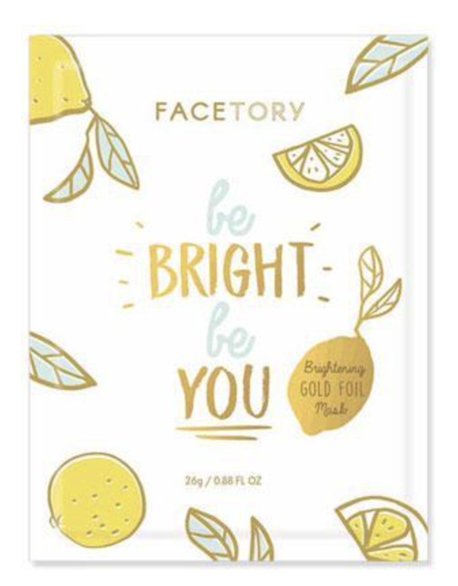 FaceTory FaceTory - Be Bright Be You Foil Mask