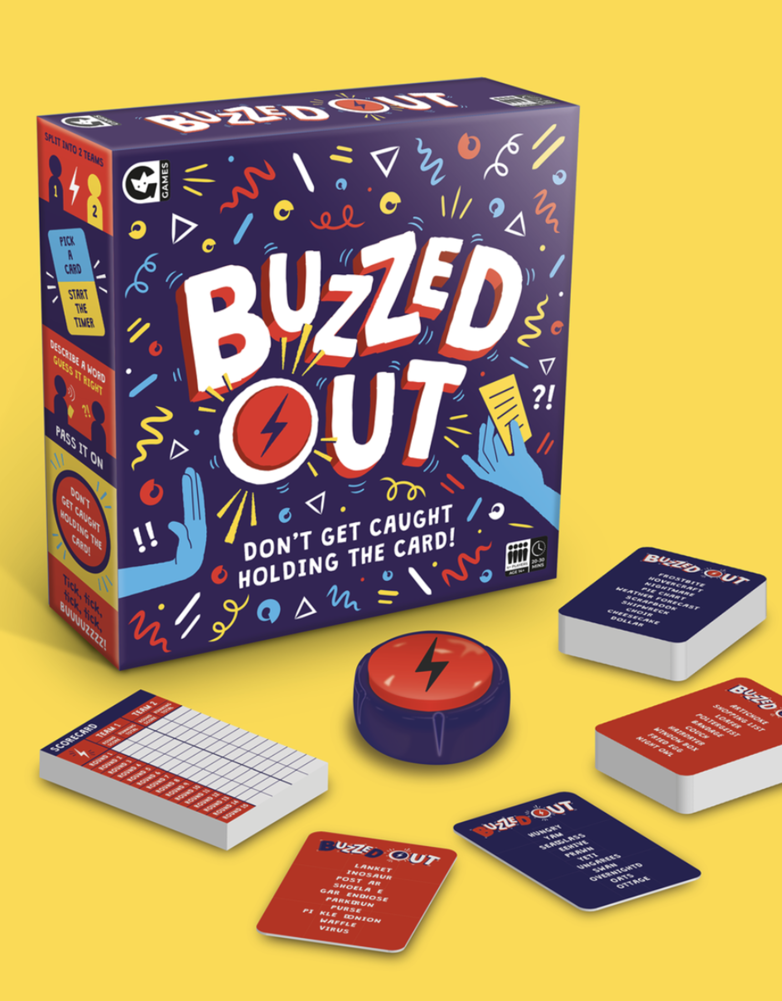 Ginger Fox Ginger Fox - Buzzed Out Game