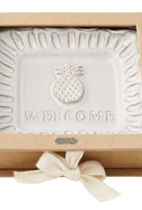 Mud Pie Mud Pie - Welcome Trinket Dish - Welcome
