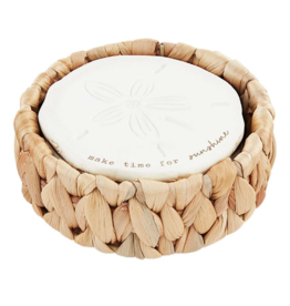 Mud Pie Mud Pie - Sand Dollar Coaster Set