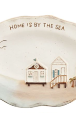 Mud Pie Mud Pie - Sea Plate - House