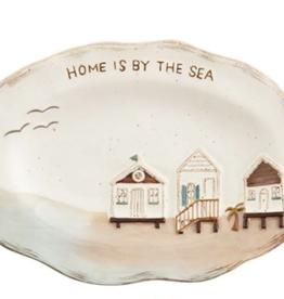 Mud Pie Mud Pie - Sea Plate - House