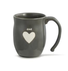 Demdaco - Dad Heart Mug
